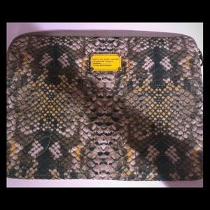 Mark Jacobs Snake Print Computer Case